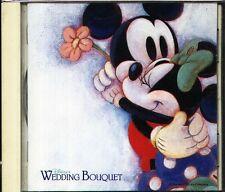 DISNEY'S WEDDING BOUQUET - Japan CD FANTASIA ROBIN HOOD Cinderella ALADDIN