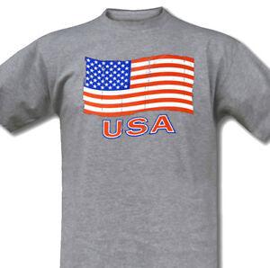 SKULL CAP T-SHIRT XXL USA BIKER HOT ROD V8 TOTENKOPF FLAGGE AMERIKA FLAG S