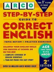 Step-by-Step-Guide-to-Correct-English-by-Arco-Publishing