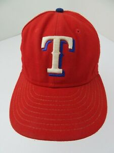 Texas-Rangers-New-Era-Fitted-7-1-4-Adult-Baseball-Ball-Cap-Hat