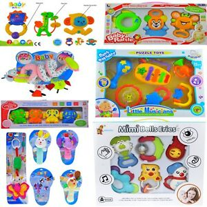 Baby-Activity-Toys-and-Rattles-for-Girl-amp-Boy-0M-Lovely-Gift-Set
