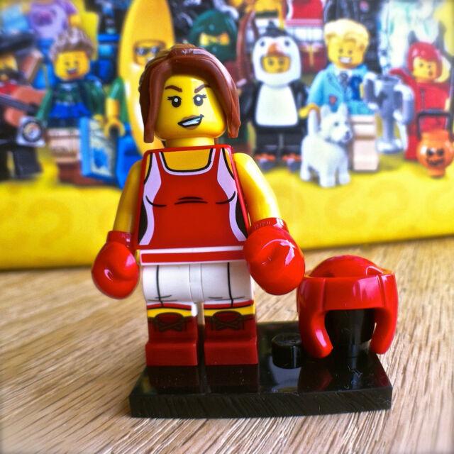 LEGO 71013 Minifigures SERIES 16 KICKBOXER #8 SEALED Minifig Female Boxer Lady