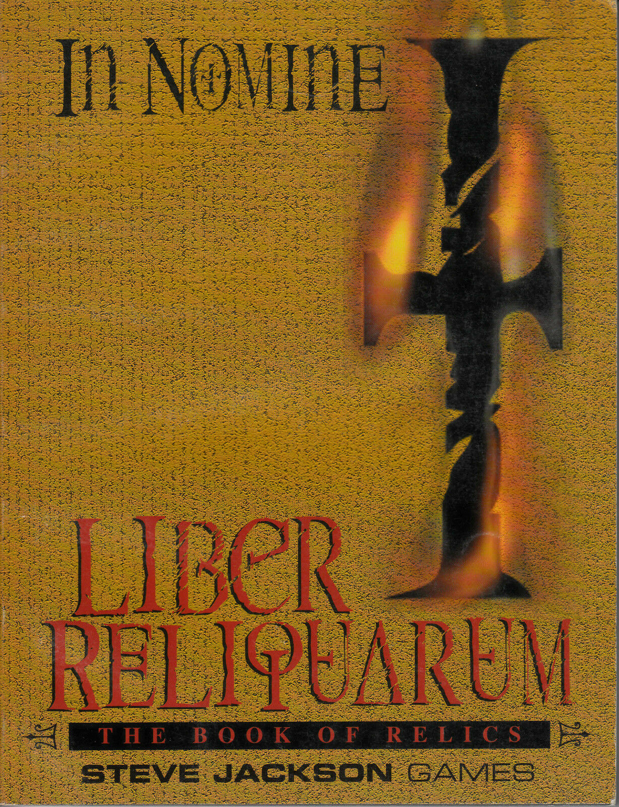 IN NOMINE - Libero Reliquarum - The Book of Relics RPG NEW ENG 3310