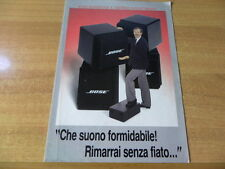 brochure BOSE Acoustimass  lingua italiana