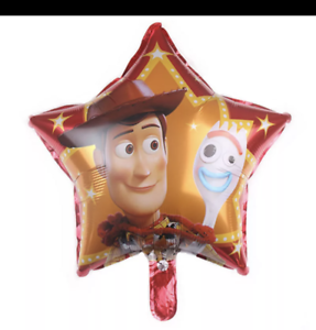 """Toy Story 4 Foil 18/"""" Balloon star shape red"""