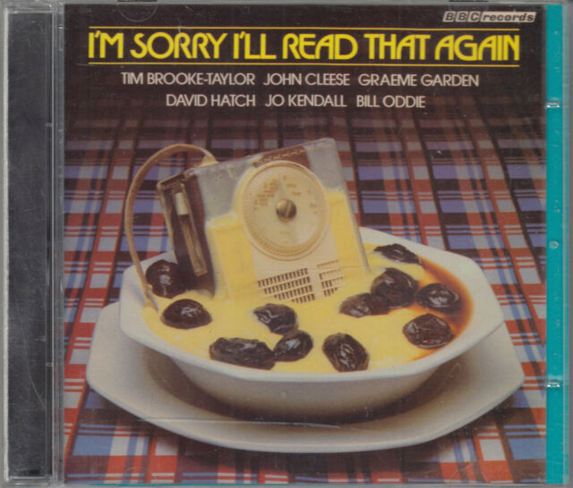 I'm Sorry I'll Read That Again CD Audio Vinyl Replica Radio Comedy John Cleese