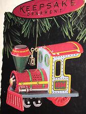 Hallmark Keepsake Ornament Yuletide Central Engine 1st in Series 1994