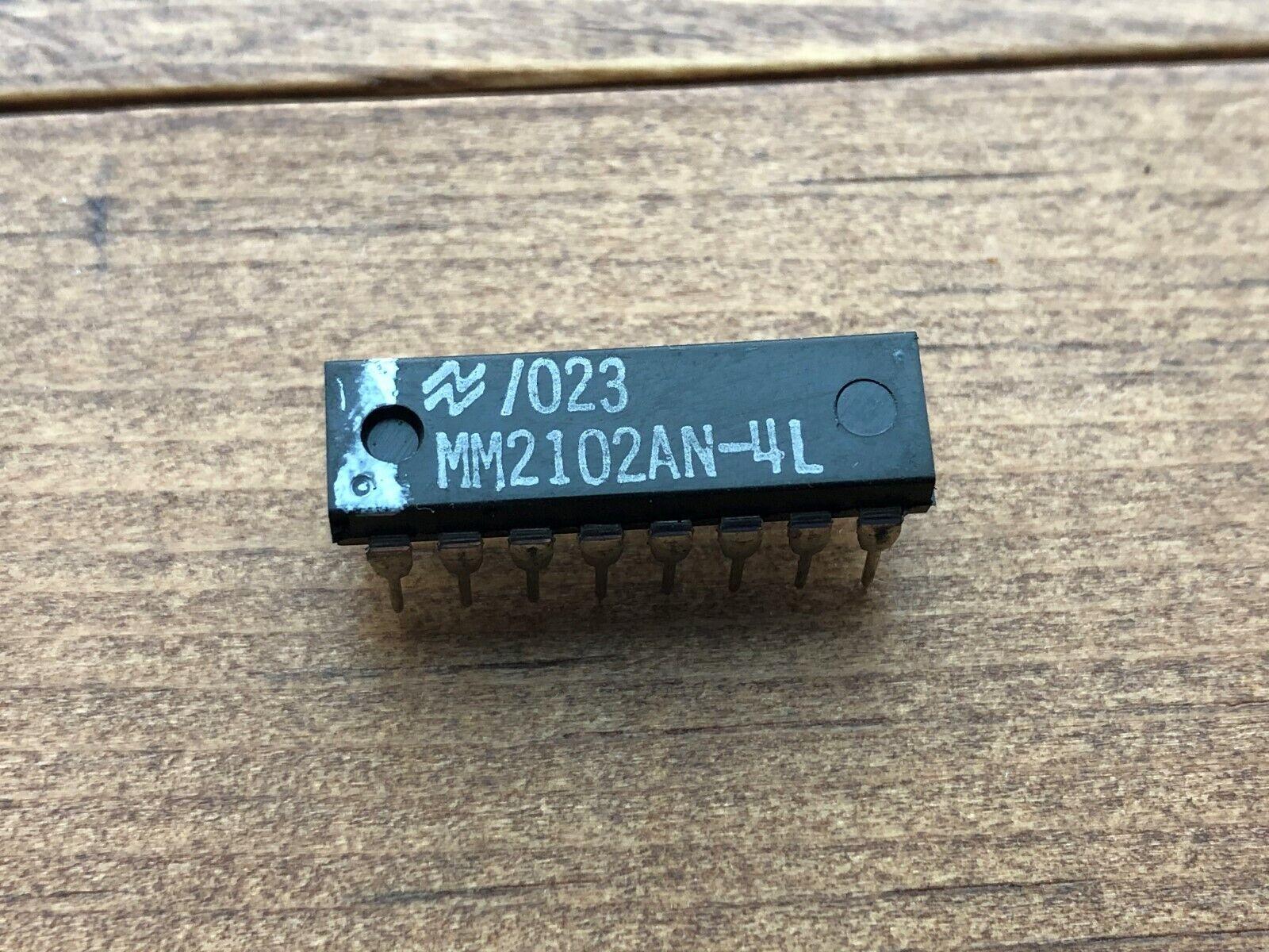 Vintage! MM2102AN-6 1K SRAM DIP16