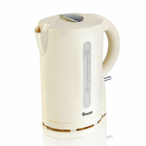 Swan-2200W-1-7-Litre-Cream-Electric-Cordless-Jug-Kettle-Fast-Rapid-Water-Boil
