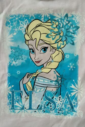 DISNEY FROZEN  ELSA GIRLS T SHIRT TOP Primark  9-24 Months New