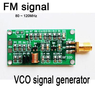 80 ~ 120MHz VCO RF Signal Source Voltage Controlled Oscillator Signal Generator