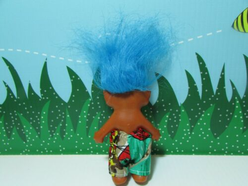 "All Original NEW 4/"" Etone Troll Doll VINTAGE 1960/'s KOREAN TROLL"