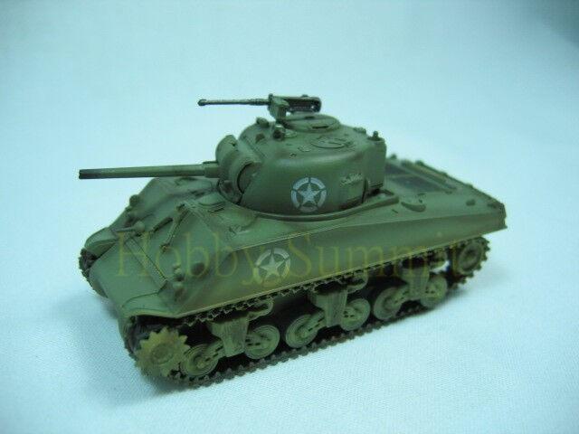 1/72 Sherman WW2 M4A3  MEDIUM TANK  1944 Normandy  US Army  Assembled Model