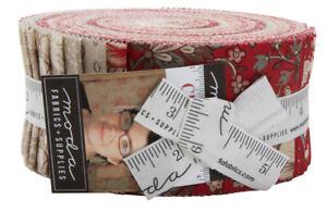 Moda-Chafarcani-Jelly-Roll-2-5-034-Fabric-Quilting-Strips-13850JR-J01