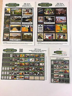 Bellissimo Lner - Model Railway Bundle Pack Green - Oo Gauge - Bargain Sale Price