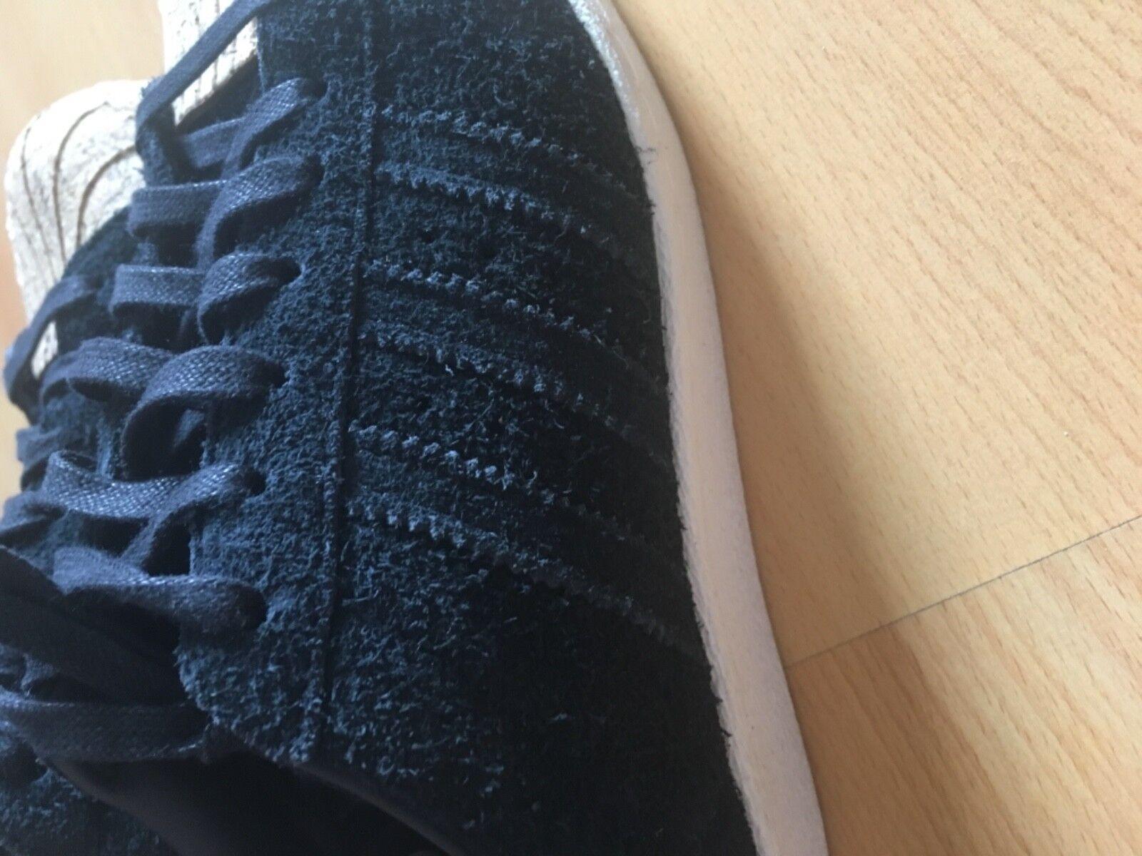 Damen Adidas Superstar 80s Cork schwarz