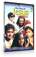 Story Of Jesus For Children Dvd Atlantic 8language Film Kids Bible Testament