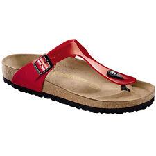Fm9XaOhmTR Womens Gizeh Tango Red Patent Synthetic Sandals 41 EU Nueva Llegada Para La Venta EqB30UhB