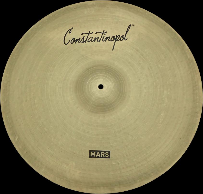 Constantinopol MARS RIDE 22  (Jazz) - B20 Bronze - Handmade Turkish Cymbals