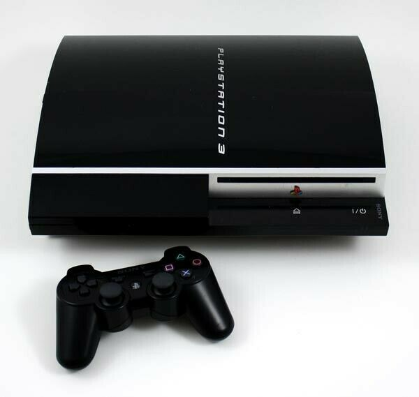 Sony Playstation 3 80gb Black Console For Sale Online Ebay