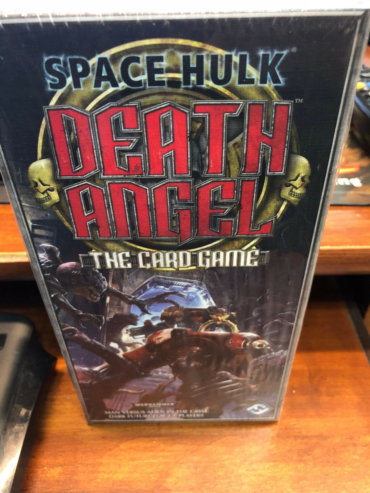 Space Hulk Death Angel Card Game  Fantasy Flight Games Sealed OOP