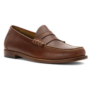 220e1b85d76 Men s G.H. Bass SlipOn Weejuns Penny Loafers Shoe Larson Saddle Tan ...