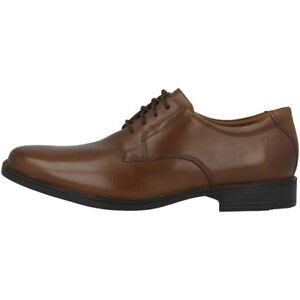 Tilden Schnürschuhe Business Halbschuhe Schuhe 26130097 Herren Clarks Plain Tan 6dqwR67