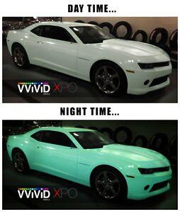 vvivid xpo gloss green glow in the dark vinyl car wrap decal ebay. Black Bedroom Furniture Sets. Home Design Ideas