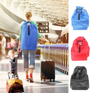 12f9a74e6f4a Details about Baby Kids Car Seat Travel Bag Cover for Airplane Gate Check  Bag Pouch Portable
