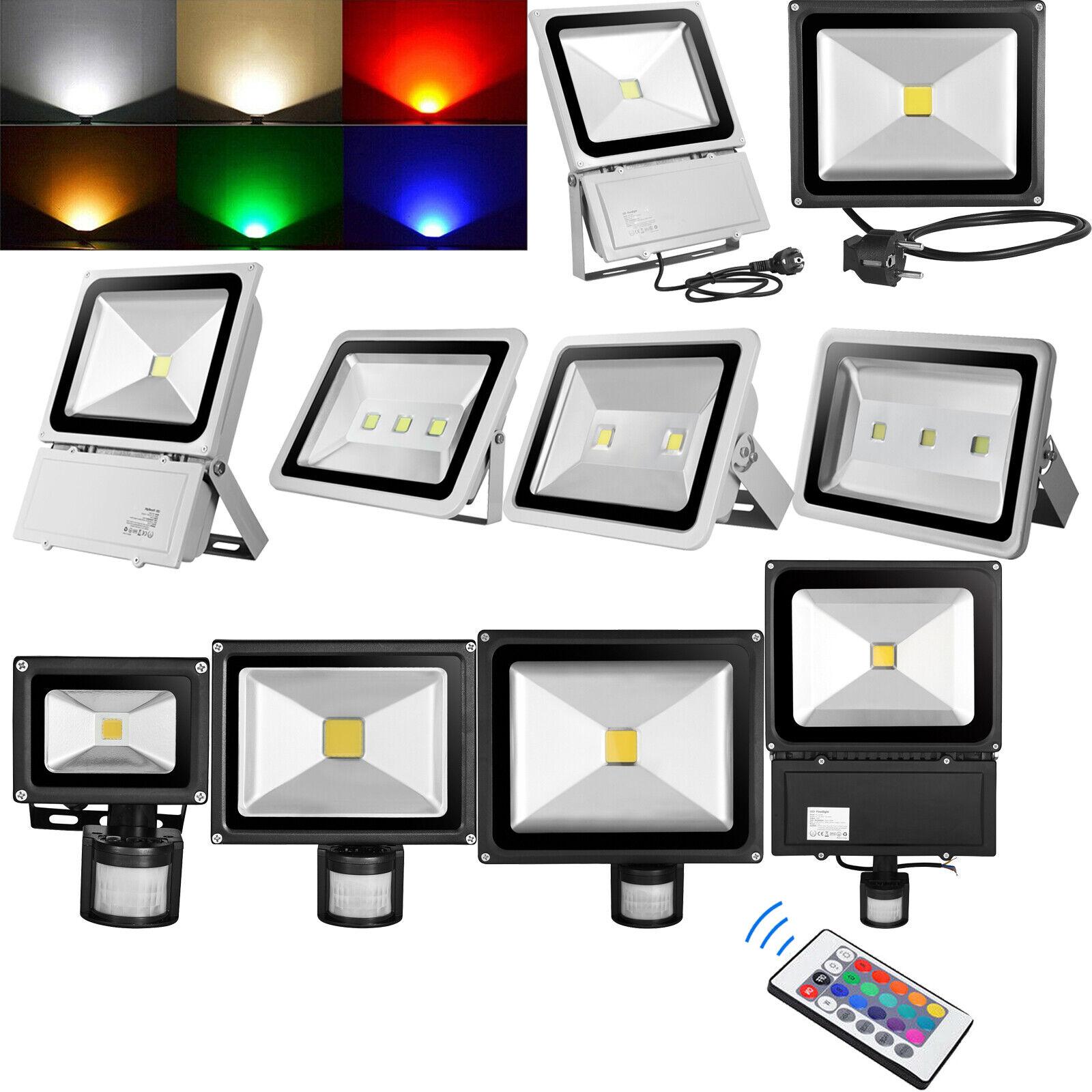 10W 30W 50W 100W 300W LED Fluter Flutlicht Strahler SMD Außen Scheinwerfer IP65