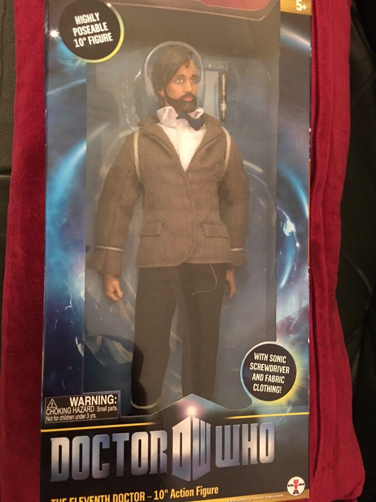 Doctor Who 11th DOTTORE CON BARBA 10 in (ca. 25.40 cm) Figura