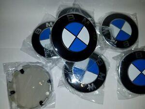 Pack-4x-Cache-moyeu-centres-de-roue-logo-BMW-68mm-neuf-ENVOI-SUIVI-FRANCE