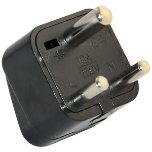 Universal Power Plug Adapter Au Us Eu Uk To Small South Africa Plug For Travel