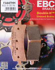 EBC/FA447HH Sintered Brake Pads Front - Ducati 848, 1098, 1198, 1199 Panigale