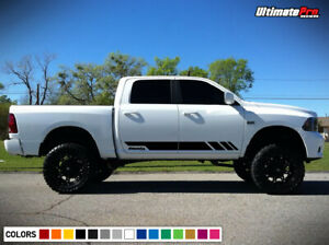 Decal Sticker Stripe Kit Body for Ford F150 Panel Visor Grille Flare Door Sill