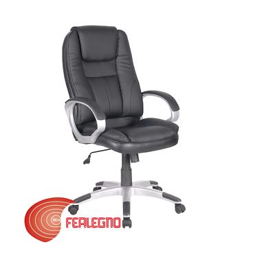 Sitzmöbel Motiviert Sessel Einstellbare Schwenkbare Schwarz Pu Mit SchwimmflÜgel BÜro Studio Einfach Zu Verwenden