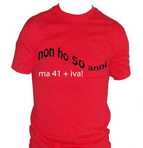 fm10 t shirt uomo 50 anni compleanno divertente idea regalo festa