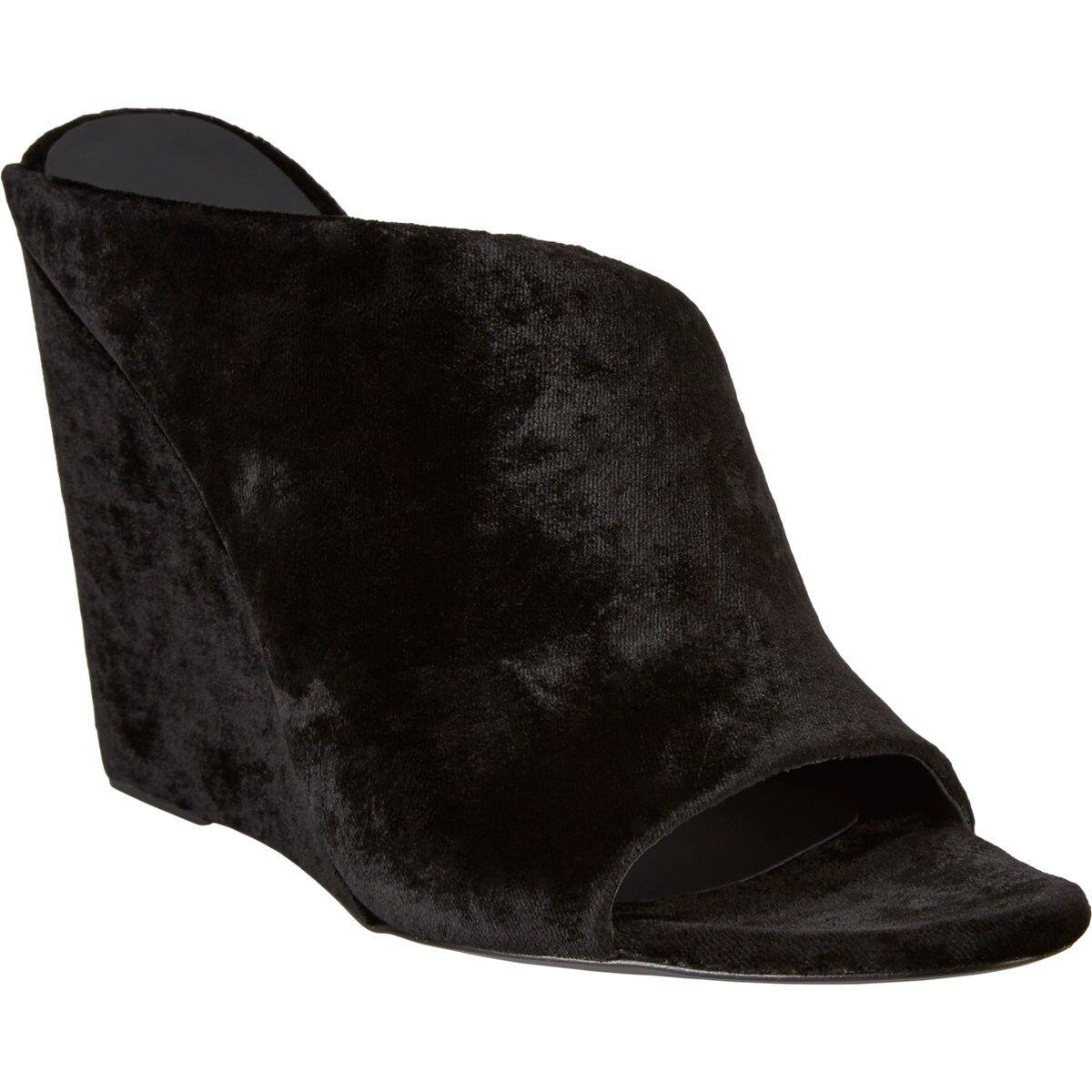 625 AUTH NIB ALEXANDER WANG Eniko Wedge Sz Slide Sandals Sz Wedge 37 9643d8