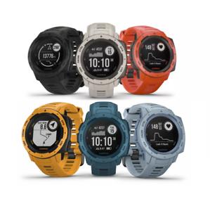 Details about Garmin Instinct Rugged GPS Watch with Glonass Heart Rate &  Barometric Altimeter