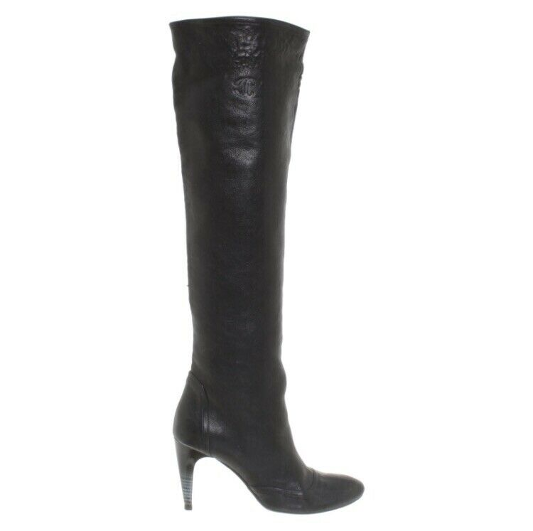 Just Cavalli Leather Boots BNWB SIZE 40 UK7