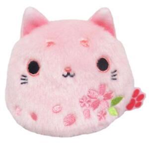 Sanei Boeki Cherry Blossoms Neko Dango Kasumi Sakura Cat Plush Stuffed toy
