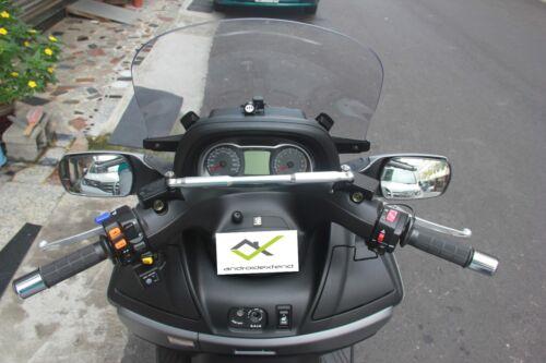 CROSSBAR for GPS,Cellphone,Camera,Cup Holder,Speakers SUZUKI BURGMAN 650 ALL