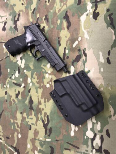 Black Kydex SIG P226R Threaded Barrel Holster