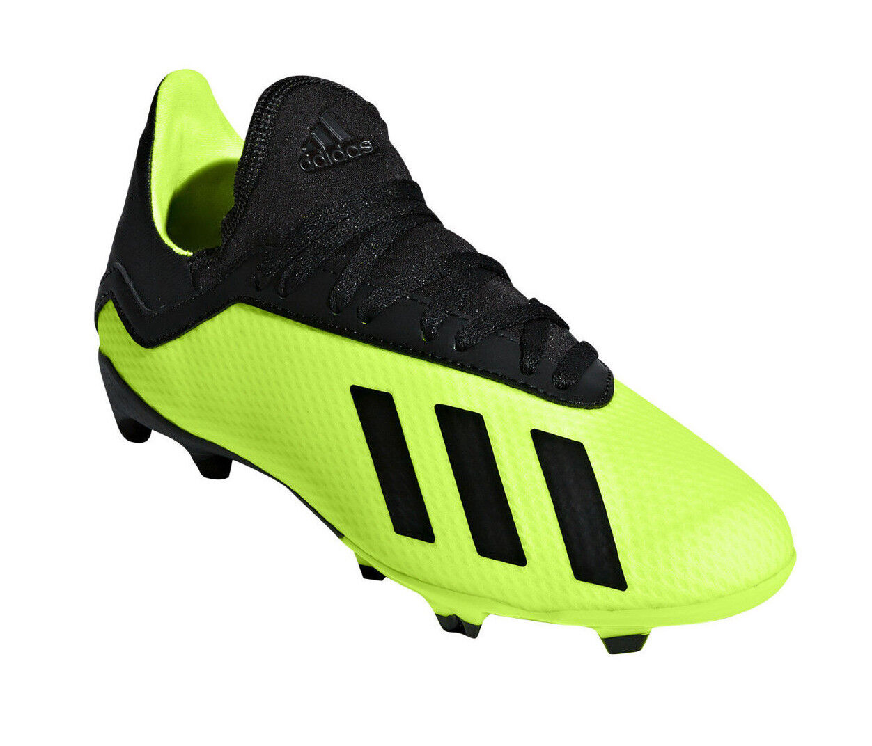 Adidas Kids shoes Boys Football Cleats X 18.3 Firm FG Soccer Boots New DB2418