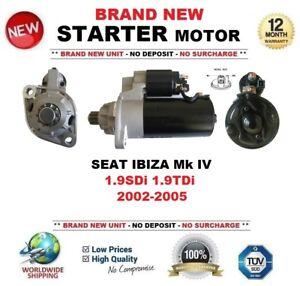 1.4 TDI 6L1 Anlasser SEAT IBIZA Mk IV