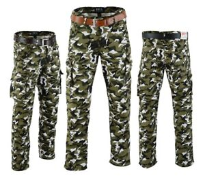 NEW-MENS-MOTORBIKE-MOTORCYCLE-CAMO-CARGO-WITH-PROTECTIVE-CE-PADDED-ARMOUR-JEAN