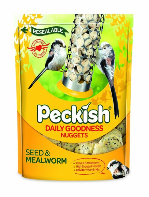 Peckish Daily Goodness Suet Nuggets for Wild Birds, 1 kg