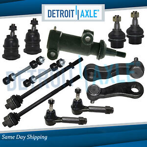 New 13pc Complete Front Suspension Kit For Chevy Silverado 1500