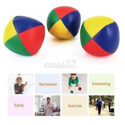 Details about  /Juggling Balls Set Classic Bean Bag Juggle Magic Circus Beginner Kids Toy Gift