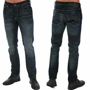 Para-Hombre-Jack-amp-Jones-Clark-Original-Regular-Fit-Stretch-Denim-Jeans-pantalones-28-38